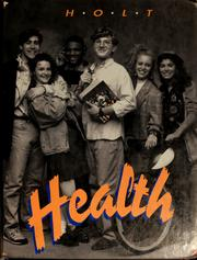 Cover of: Holt health | Jerrold S. Greenberg