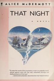 Cover of: That night | Alice McDermott