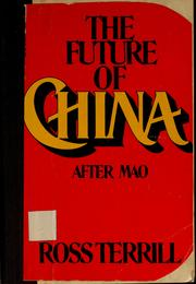 Cover of: The future of China