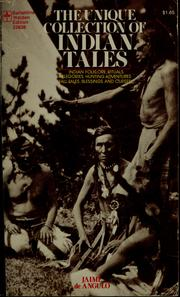Cover of: Indian tales | Jaime de Angulo