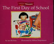 Cover of: The first day of school