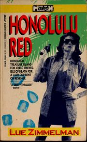 Cover of: Honolulu red | Lue Zimmelman