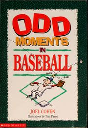 Cover of: Odd moments in baseball