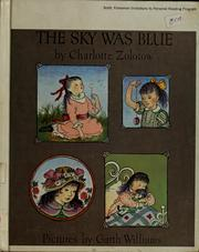 Cover of: The sky was blue