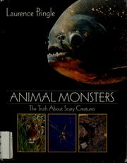 Cover of: Animal monsters