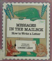 Cover of: Messages in the mailbox | Loreen Leedy