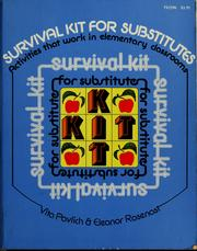 Cover of: Survival kit for substitutes