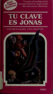 Cover of: Tu clave es Jonas
