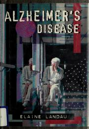 Cover of: Alzheimer's disease