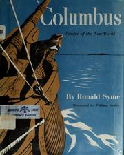 Cover of: Columbus, finder of the New World | Ronald Syme