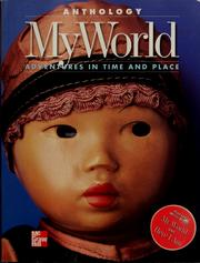 Cover of: My world