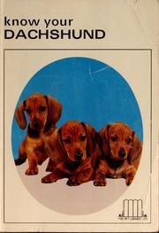 Cover of: Know your dachshund