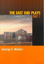 Cover of: East end plays