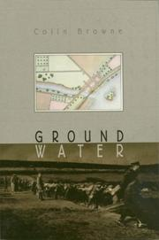 Cover of: Ground Water | Colin Browne