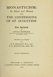 Cover of: Monasticism