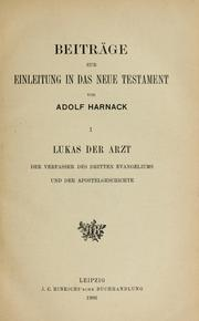 Cover of: Lukas der Arzt