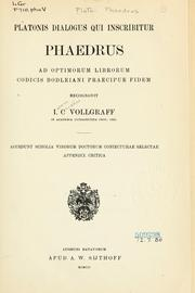 Cover of: Platonis dialogus