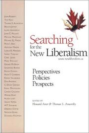 Cover of: Searching for the New Liberalism |