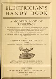 Cover of: Electrician's handy book