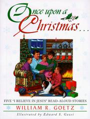 Cover of: Once upon a Christmas-- | Goetz, William R.