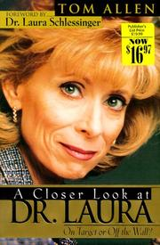 Cover of: A closer look at Dr. Laura