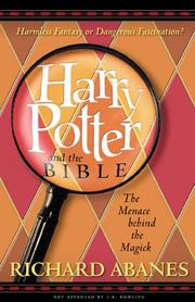 Cover of: Harry Potter and the Bible