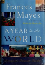 Cover of: A year in the world