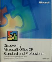 Cover of: Discovering Microsoft Office XP | Michael J. Young
