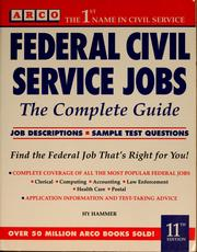 Cover of: Federal civil service jobs
