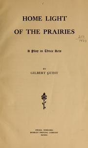 Cover of: Home light of the prairies