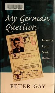 Cover of: My German question