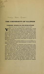 Cover of: The University of Illinois