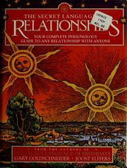 Cover of: The Secret Language of Relationships
