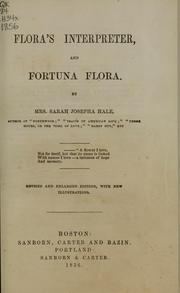 Cover of: Flora's interpreter and Fortuna flora