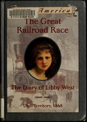 Cover of: The great railroad race