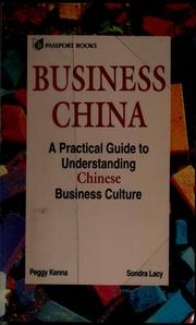 Cover of: Business China