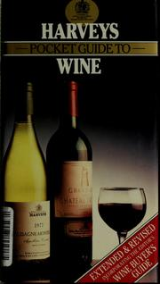 Cover of: Harveys pocket guide to wine