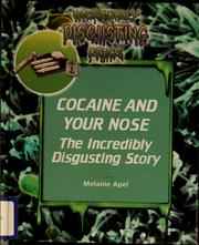 Cover of: Cocaine and your nose