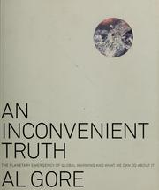Cover of: An inconvenient truth