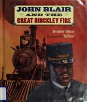 Cover of: John Blair and the great Hinckley fire