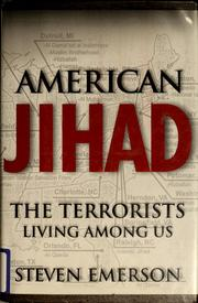 Cover of: American jihad | Steven Emerson