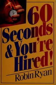 Cover of: 60 seconds and you're hired