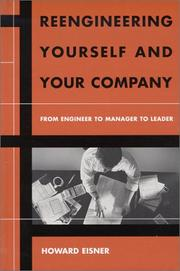 Cover of: Reengineering Yourself and Your Company