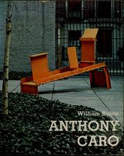 Cover of: Anthony Caro