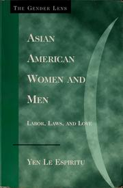 Cover of: Asian American women and men