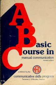 A basic course in manual communication