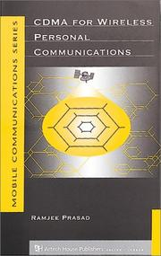 Cover of: CDMA for wireless personal communications