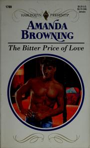 Cover of: The bitter price of love