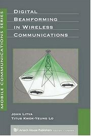 Cover of: Digital beamforming in wireless communications