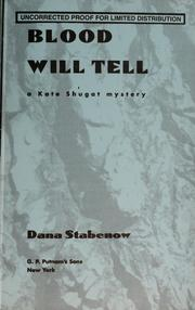 Cover of: Blood will tell